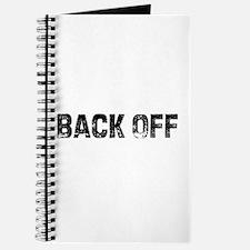 Back Off Journal