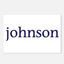 Johnson Postcards (Package of 8)