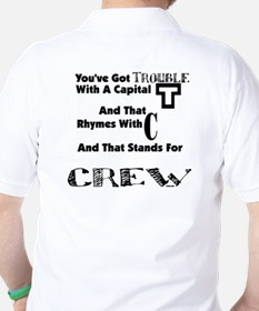 Backstage Crew Trouble T-Shirt