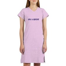 ON A QUEST Women's Nightshirt