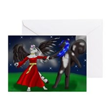 Mew and Syden Greeting Cards (Pk of 10)