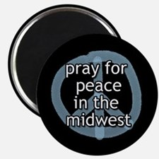 Peace in the Midwest Magnet