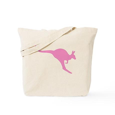 Pink Roo Tote Bag