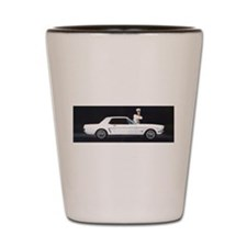 1964 Ford Mustang Shot Glass