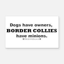 BCs vs. Dogs Rectangle Car Magnet