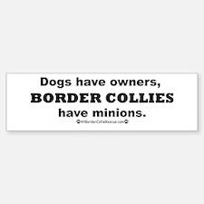 BCs vs. Dogs Bumper Bumper Sticker