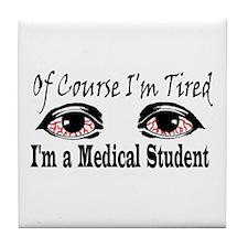 Medical Student Tile Coaster
