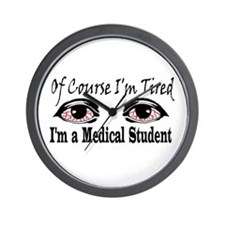 Medical Student Wall Clock