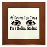 Medical Student Framed Tile