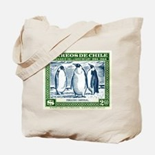 Antique 1948 Chile Emperor Penguins Postage Stamp