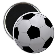 """Soccer Ball 2.25"""" Magnet (10 pack)"""