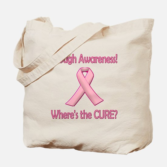 Breast Cancer: Enough Awareness! Wheres The Cure?