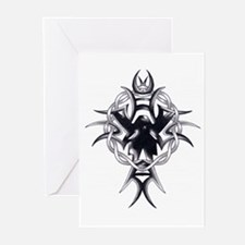 Celtic Cross Tribal Tattoo Greeting Cards (Package