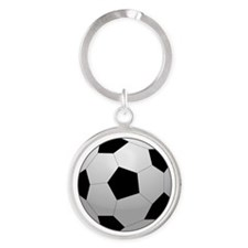 Soccer Ball Keychains