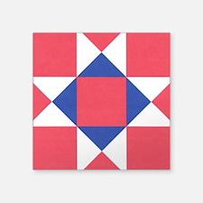 """Ohio Star Square Sticker 3"""" x 3"""""""