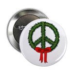 """Peace Wreath 2.25"""" Button (100 pack)"""