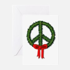 Peace Wreath Greeting Cards (Pk of 10)