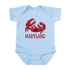 Maryland Crab Infant Bodysuit