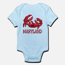 Maryland Crab Infant Bodysuit