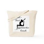 Gymnastics Coach Tote Bag