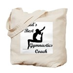 Gymnastics Coach Tote Bag