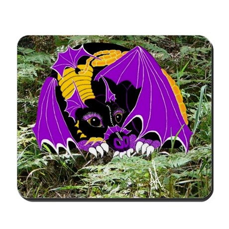 Dreamscape the Space Dragon Mousepad