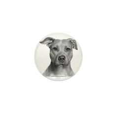 American Pit Bull Terrier Mini Button (10 pack)