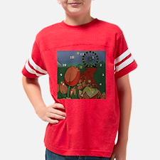 Tulip_childrens_clock Youth Football Shirt