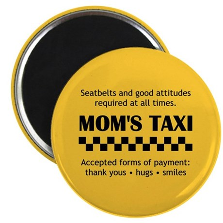 """Mom's Taxi 2.25"""" Magnet (10 pack)"""