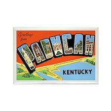Paducah Kentucky Greetings Rectangle Magnet