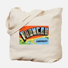 Paducah Kentucky Greetings Tote Bag