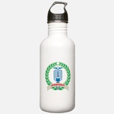 Mod Skinhead Scooterist Water Bottle