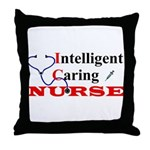 ICU Nurse Throw Pillow
