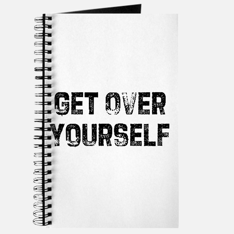 Get Over Yourself Journal