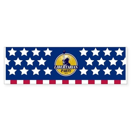 Stars & Stripes Sticker (Bumper)