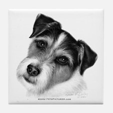 Jack (Parson) Russell Terrier Tile Coaster