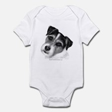 Jack (Parson) Russell Terrier Infant Bodysuit