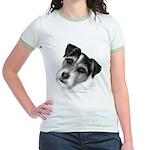Jack (Parson) Russell Terrier Jr. Ringer T-Shirt