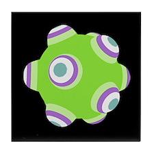 Glorious Green KATAMARI BALL Tile Coaster