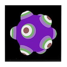 Psycho Purple KATAMARI BALL Tile Coaster