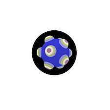 Ballistic Blue KATAMARI BALL Mini Button