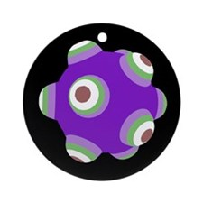 Psycho Purple KATAMARI BALL Christmas Ornament