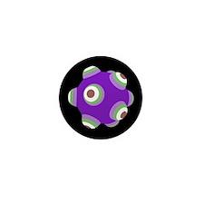 Psycho Purple KATAMARI BALL Mini Button