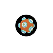 Sunset Rust KATAMARI BALL Mini Button