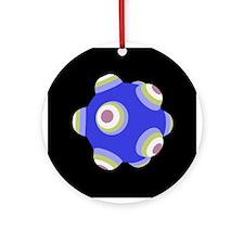Ballistic Blue KATAMARI BALL Christmas Ornament