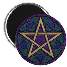 Purple Pentacle Magnet