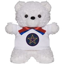 Purple Pentacle Teddy Bear