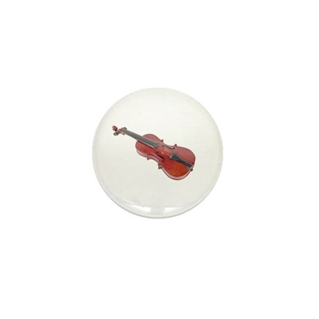 Violin Mini Button
