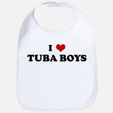 I Love TUBA BOYS Bib