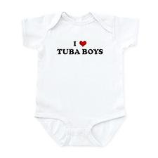 I Love TUBA BOYS Infant Bodysuit